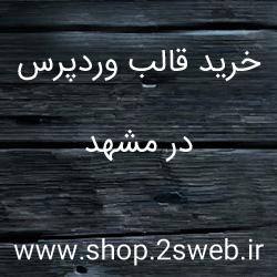 خرید قالب وردپرس در مشهد