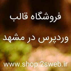 فروشگاه قالب وردپرس در مشهد