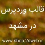 قالب وردپرس در مشهد